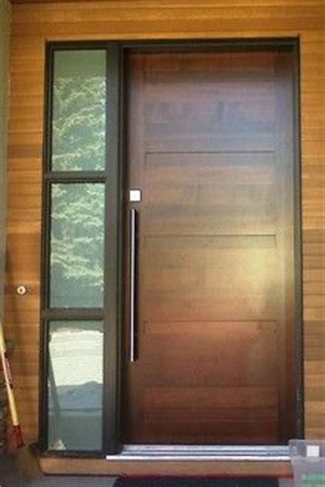 modern entrance door 17 best ideas about wood front doors on entry