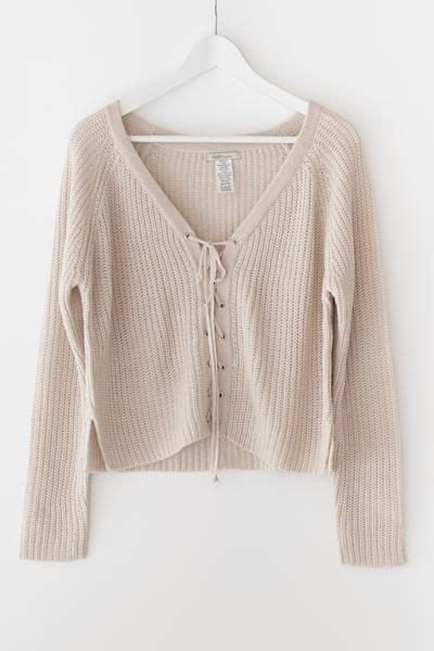 Lace Up Chunky Sweater 17 best ideas about lace sweater on