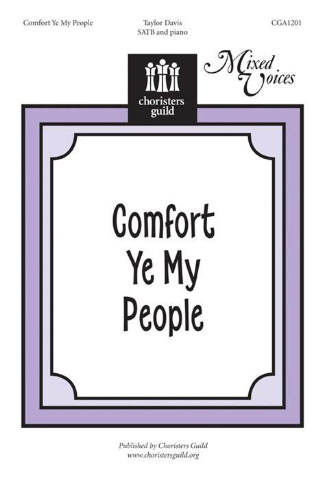 comfort ye my people cgac1201 comfort ye my people accompaniment track