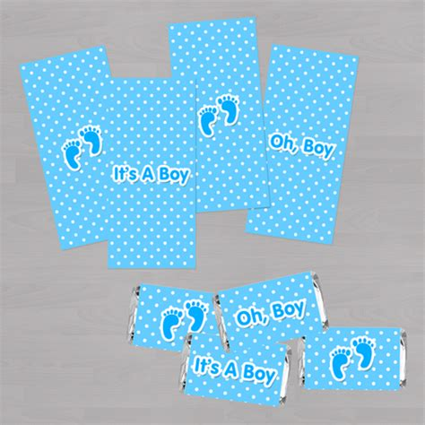 baby shower wrappers templates free baby shower mini bar wrapper baby boy diy