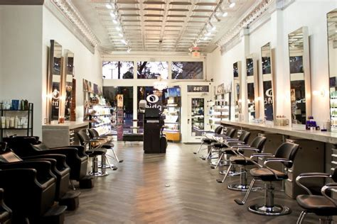 hair salon modern hair salon design ideas with bright lighting