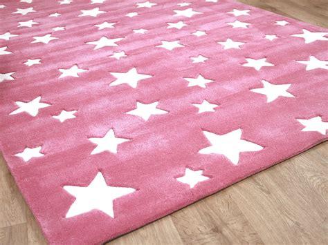 teppiche sterne lifestyle kinderteppich sterne rosa teppiche kinder und