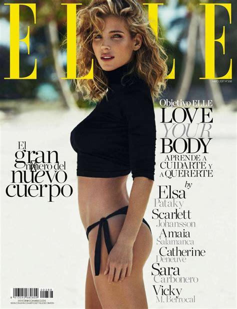 magazine may 2017 elsa pataky elle magazine spain may 2017 issue