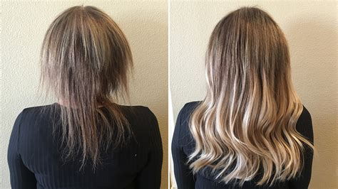 how to extend your hair color womens hair styles the shocking hair extensions before and after you have to