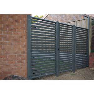 Fence Screening Panels Clik N Fit 174 Colorbond 174 Slat Panel 1800 25 Fence Or Screen