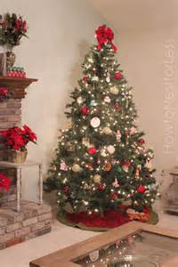 our christmas tree how to nest for less