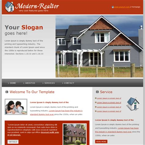 25 Free Premium Real Estate Html Website Templates Realtor Website Templates