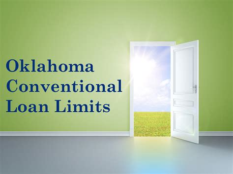 oklahoma conventional loans ok conforming loan limits