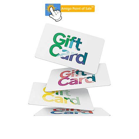 Custom Printed Gift Cards - amigo pos custom printed gift cards