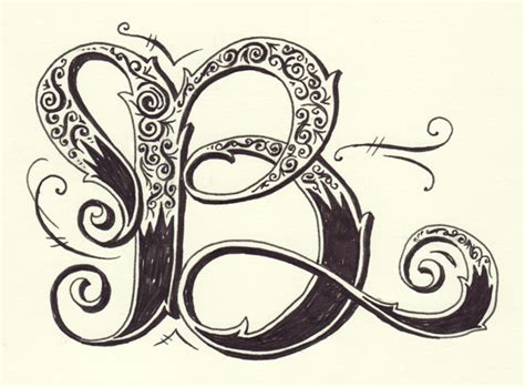 letter b typography lettering the chic type