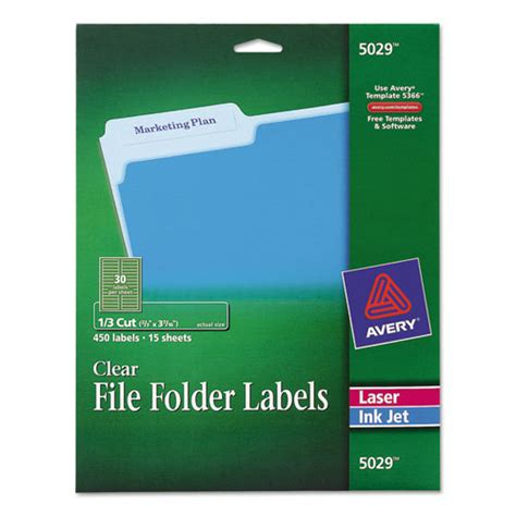 Bettymills Avery 174 Permanent Adhesive File Folder Labels Avery Ave5029 Avery Filing Label 5029 Template