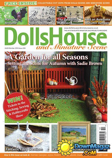 dolls house and miniature scene dolls house and miniature scene october 2016 187 download pdf magazines magazines