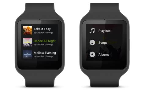 android wear devices spotify now officially supports android wear devices