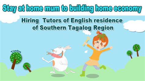 tutorial jobs online in the philippines hiring tutors of english from southern tagalog pinas