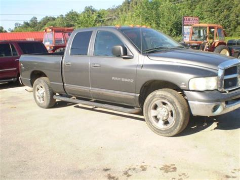 how does cars work 2003 dodge ram 3500 parking system purchase used 2003 dodge 3500 hd cummins 2wheel drive 4 door truck no reserve in harrison