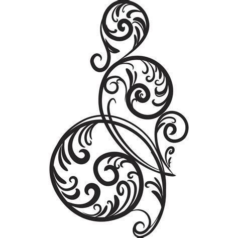 free download swirl pattern circular wall art sticker wall