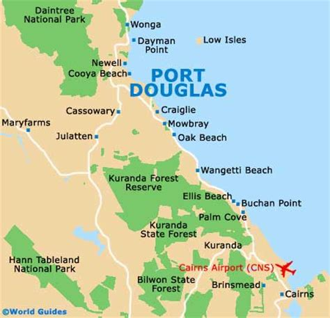 Garnet Mt port douglas maps and orientation port douglas far north