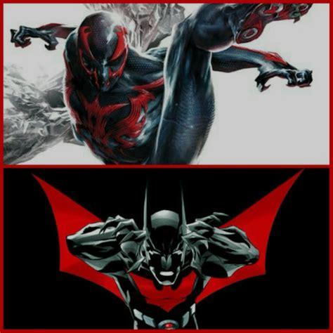 Set 3in1 Batman Vs Spider batman beyond vs spider 2099 comics amino