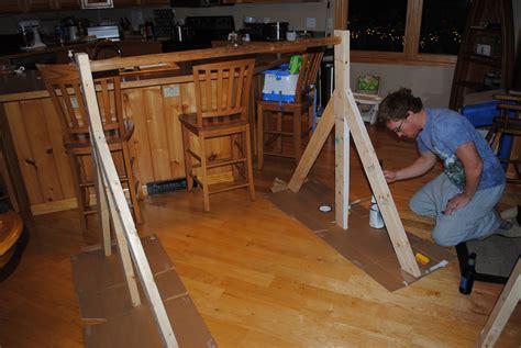 How To Make A Bar Out Of A Dresser by Gymnastics Bar He Sowed She Sewed