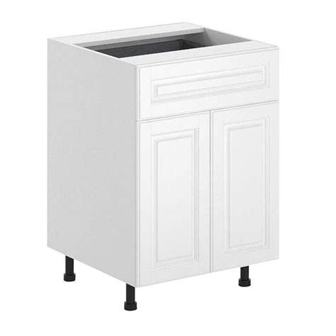 Fabritec Cabinets Reviews by Fabritec 24x34 5x24 5 In Birmingham Base Cabinet In White