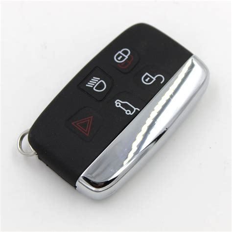 bk car remote leather fob key cover for land rover lr4