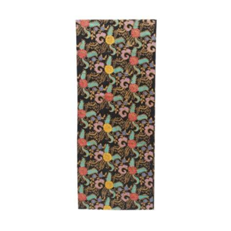 615 Kain Batik Encim Cap jual smesco trade cap motif bunga tolet hitam kain batik harga kualitas terjamin