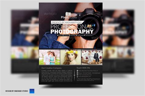 Photography Flyer ~ Flyer Templates on Creative Market