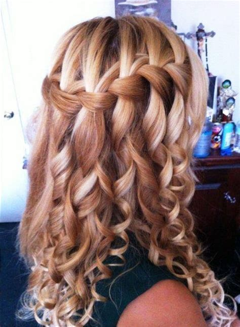 wavy prom hairstyles for long hair best 25 formal 15 best collection of long curly braided hairstyles