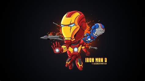 Wallpaper Cartoon Man | iron man cartoon walldevil