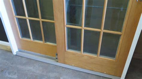 Andersen 4 Panel Sliding Glass Door Andersen 2 Panel Frenchwood Patio Sliding Doors 56 1 2 Quot X 76 1 4 Quot Retail 1500