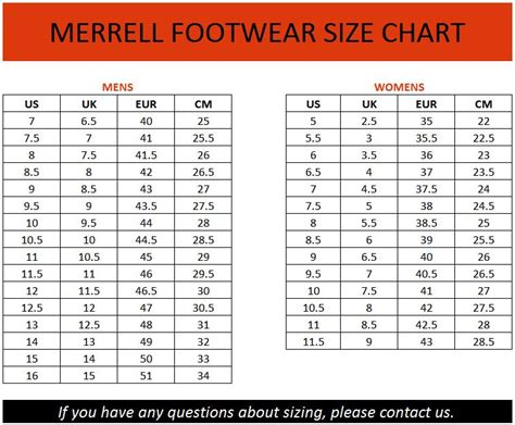 merrell shoe size chart merrell mens mattertal tex lace up hiking boots
