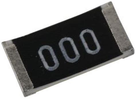 smd resistors element14 crcw25120000z0eghp vishay smd chip resistor thick 0 ohm 500 v 2512 6432 metric 1