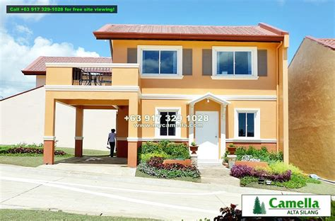 camella homes drina floor plan camella alta silang drina house and lot for sale in silang