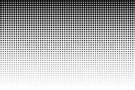 halftone pattern texture basic halftone dots effect in black and white color