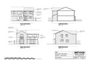 construction house plans exle house plans 3 bedroom end of terrace built to let development