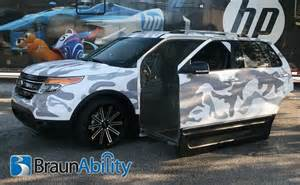 Lift Chairs Rental New Ford Explorer Suv Concept Vehicle For Wheelchair Access