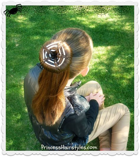 Spiderweb Hairstyle by Spider Web Bun Hairstyle Tutorial Hairstyles For