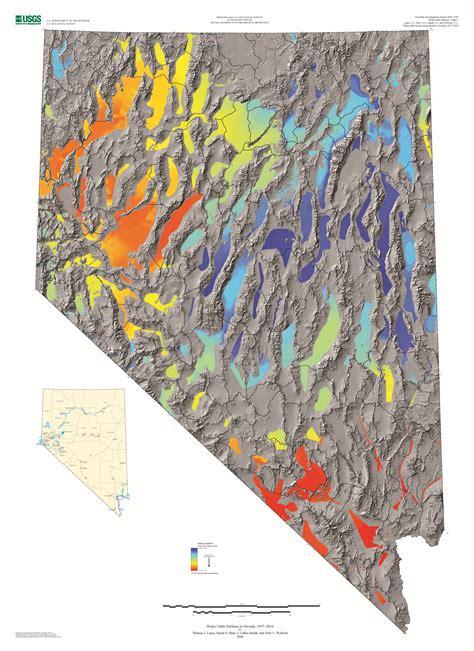 Water Table Altitude Of Nevada Data Gov