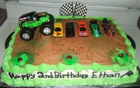 grave digger truck cake grave digger truck cakecentral com