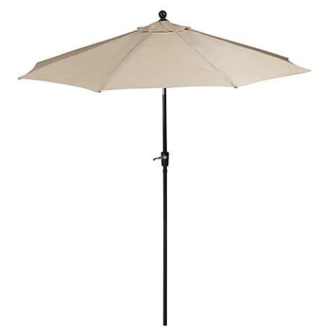 bed bath beyond umbrella 9 foot outdoor round umbrella with aluminum frame in