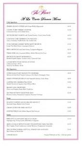 free restaurant menu template word menu template free printable menu sles in pdf word