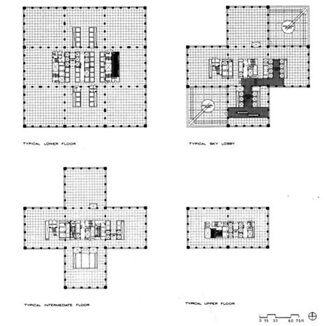 willis tower floor plan 7 best images about floor plans on pinterest
