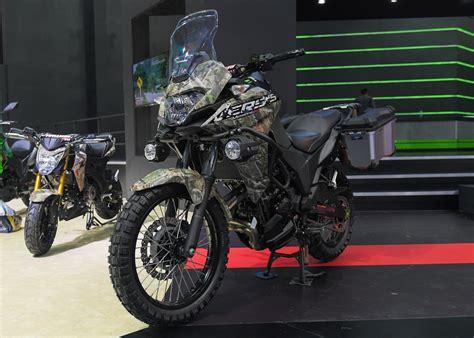 Kawasaki Versys X 250 Military Version ? Penampilannya