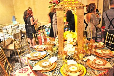 Designer Created To Raise Money For Citymeals On Wheels by Nyc Designers Create Fantastical Tablescapes To Raise