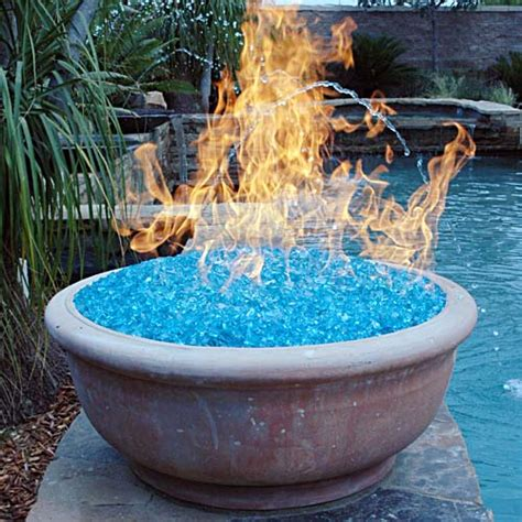 Fire Glass No Smoke Odor Or Ashes And Plenty Of Style Firepit Glass