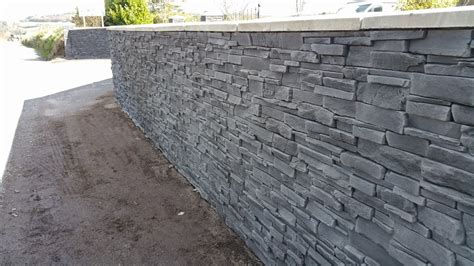 Stone Effect Garden Wall And Front House Deco Stones Garden Wall Cladding