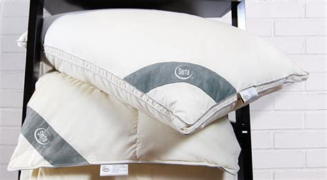 Serta Feather Pillow by Suite Layer And Feather Mattress Toppers From