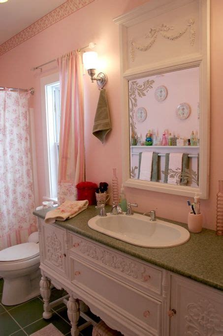 shabby chic master bathroom 167 best images about old dresser turns into bathroom vanity on pinterest
