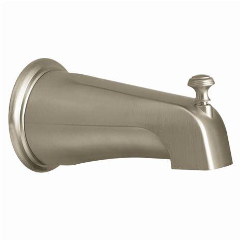 Moen Bathtub by Moen 3808bn Kingsley Slip Fit Tub Diverter Spout Brushed