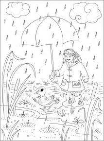 rainy day coloring pages s free coloring pages rainy day